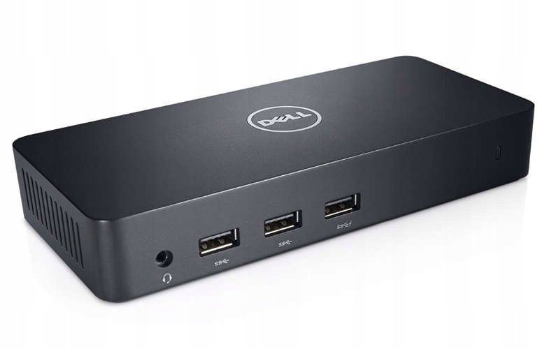 Stacja Dokująca DELL D3100 USB 3 0 zasilacz 65W 1Y