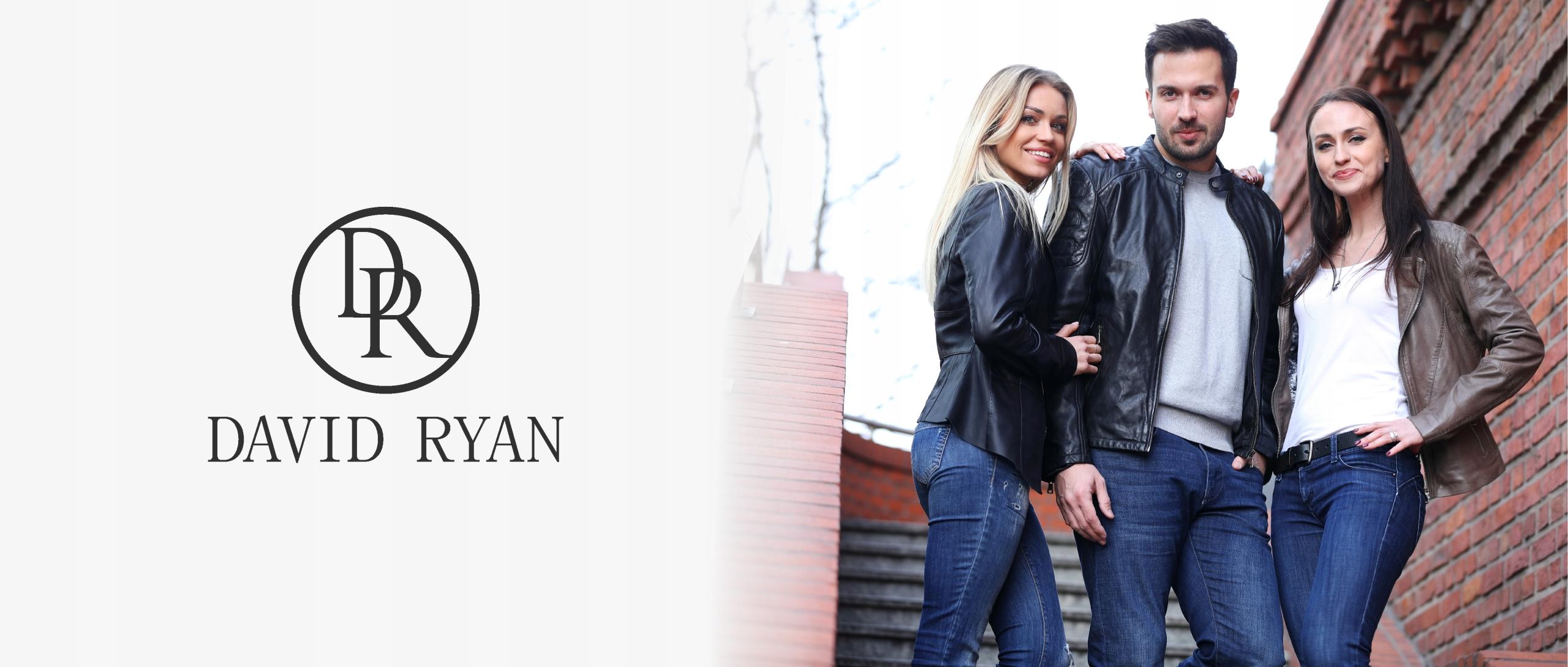 Płaszcz skórzany DAVID RYAN - Brenda - 2XL