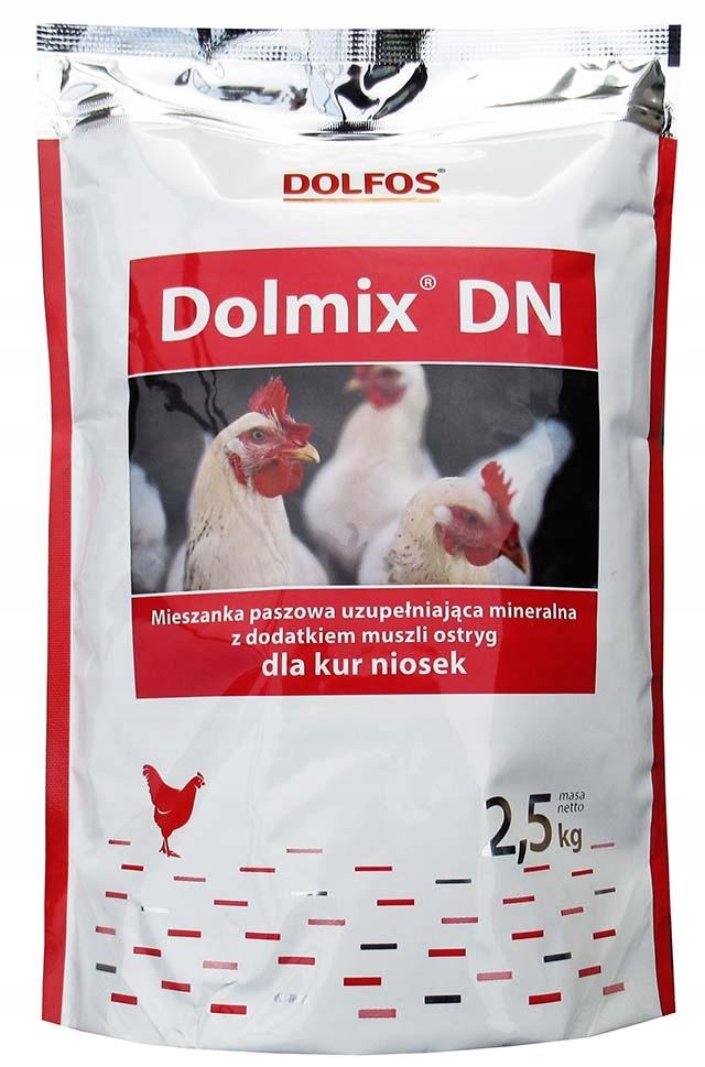 DOLMIX DN 2,5 кг витамины для кур-несушек Дольфос