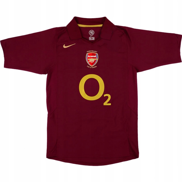 T-shirt ARSENAL FC Sezóny 2005/2006 - RETRO-rok. L