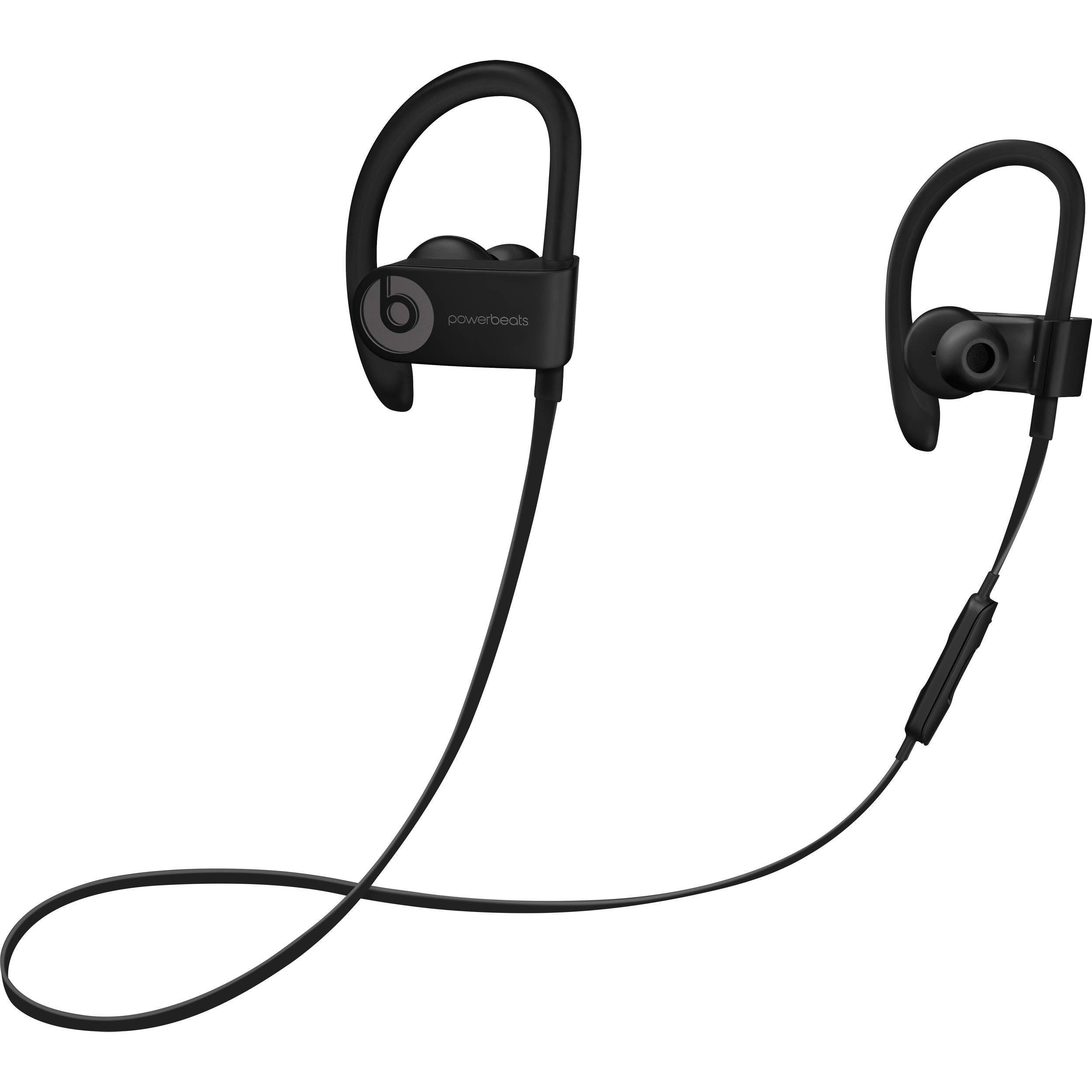 Słuchawki bezprzewodowe Powerbeats3 Wireless czarne