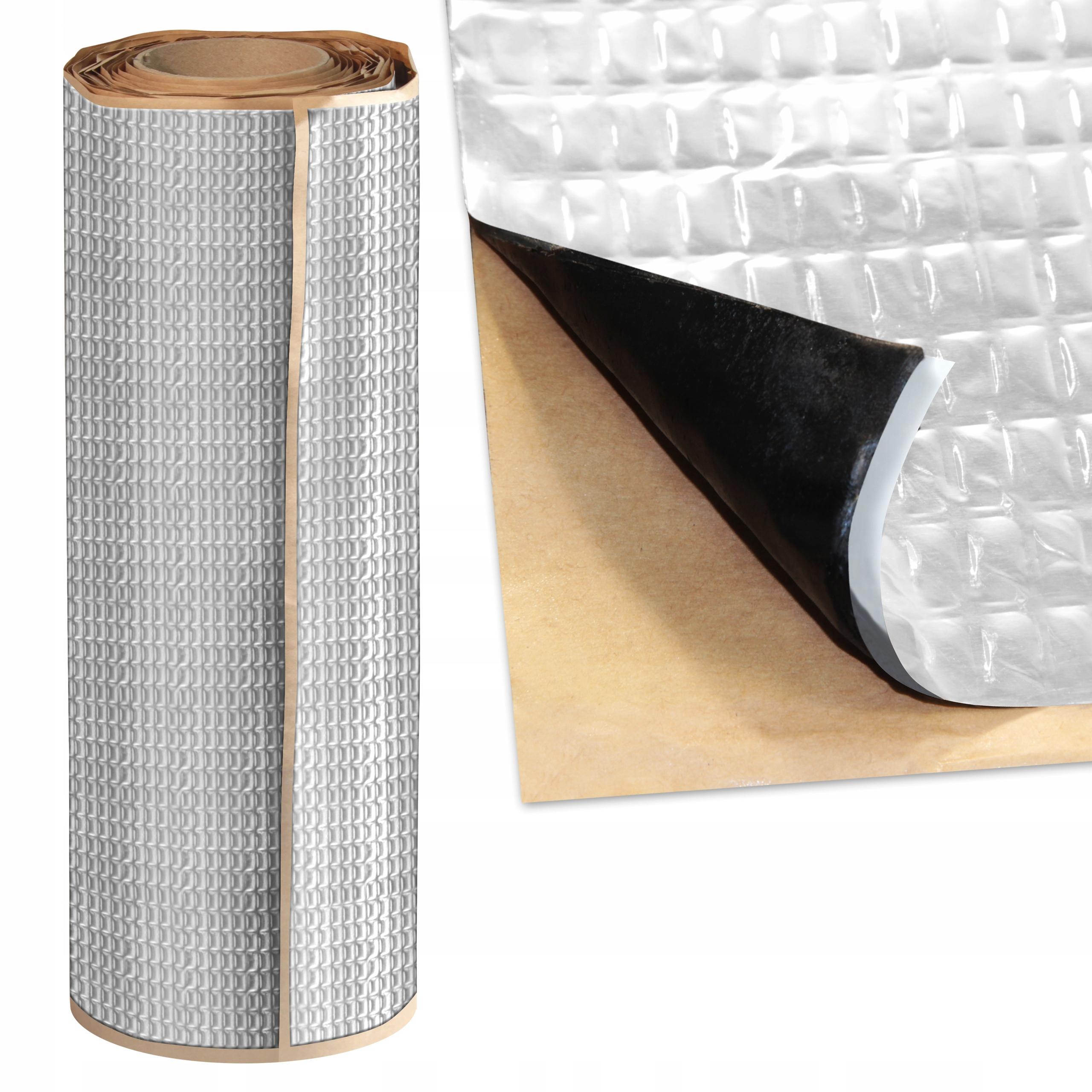коврик wygŁuszajĄca 2mm butylowa битумная alubutyl