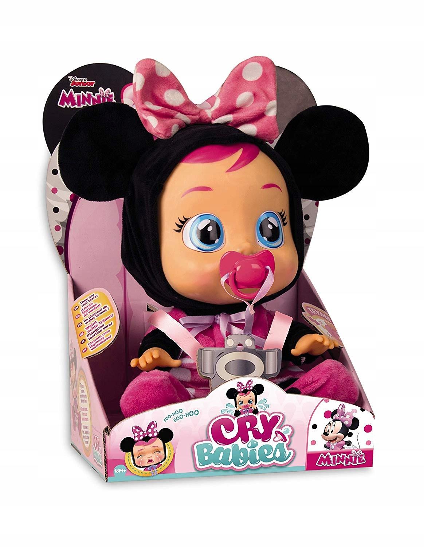 Cry Babies Fantasy Zasnená bábika 30 cm. MINNIE MAUS