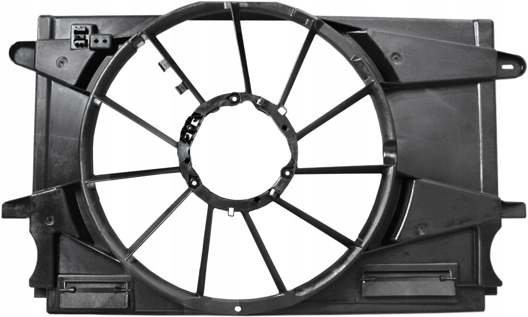 вентилятор корпус opel astra v 14t 16d 16t