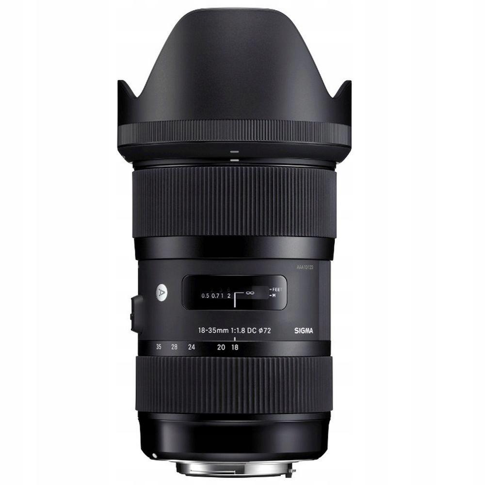 Item Sigma ART 18-35 mm f1.8 DC HSM a Canon best seller!