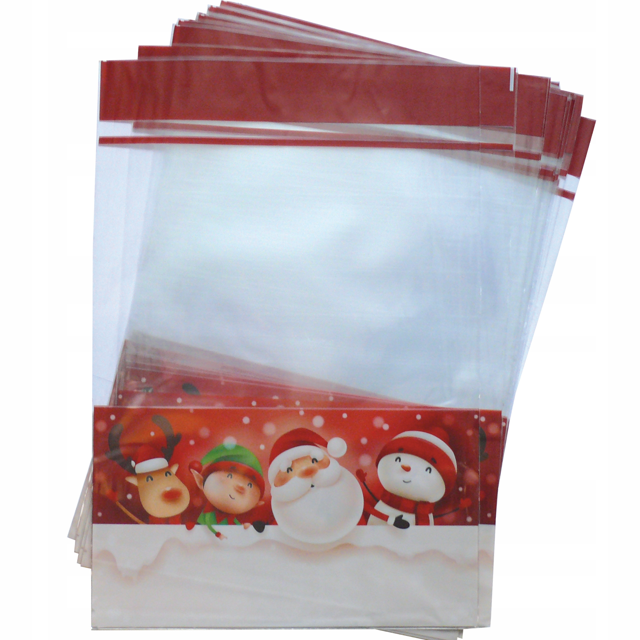 полиэтиленовые мешки мешки-Клаус 32x47 см 20 шт