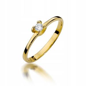 ZÁSNUBNÝ PRSTEŇ GOLD 585 DIAMOND 0,09 ct