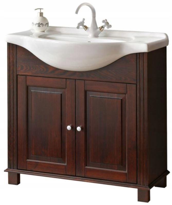 Nábytok pre kúpeľňa RETRO 865 Skrinka pod umývadlo 85