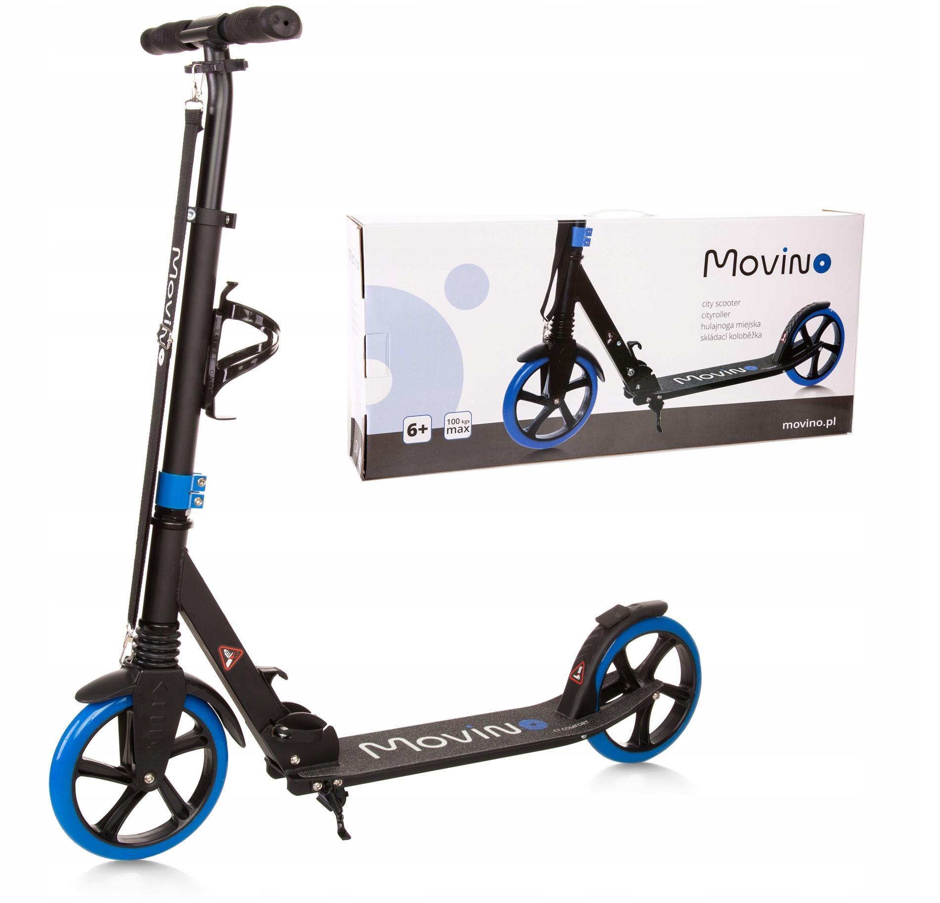 MOVINO CT COMFORT удар скутер большая подвеска колес