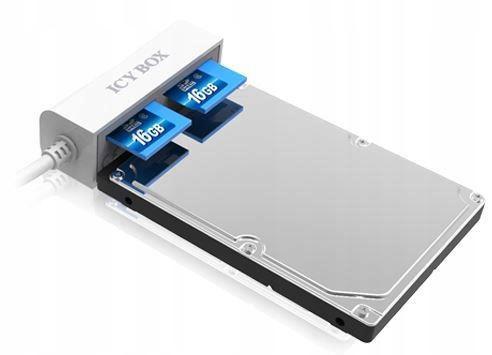 Купить ICY BOX АДАПТЕР USB на SATA с читателем SD В-ва на Otpravka - цены и фото - доставка из Польши и стран Европы в Украину.