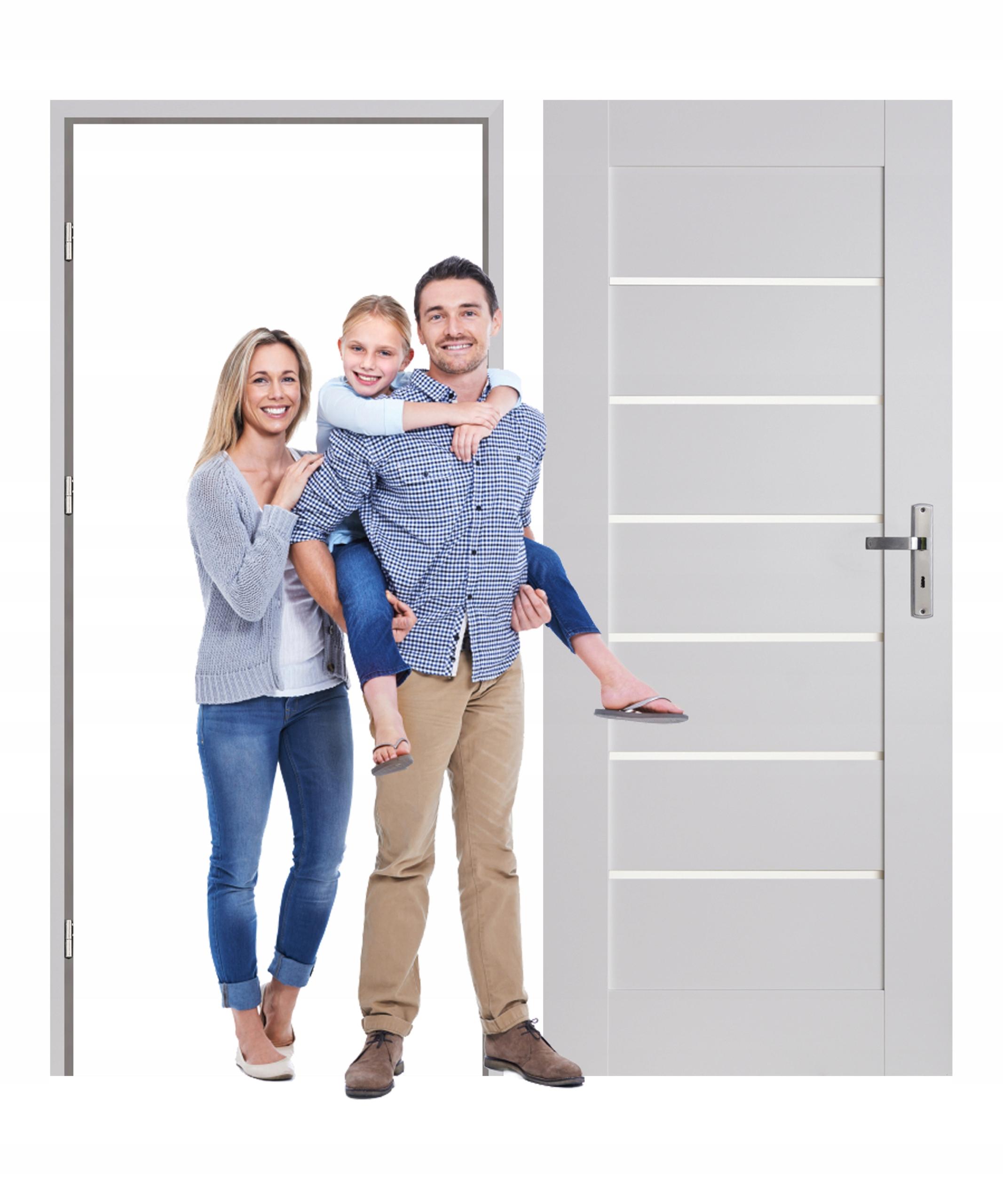Drzwi wewnętrzne z ościeżnica MILTON komplet rabat