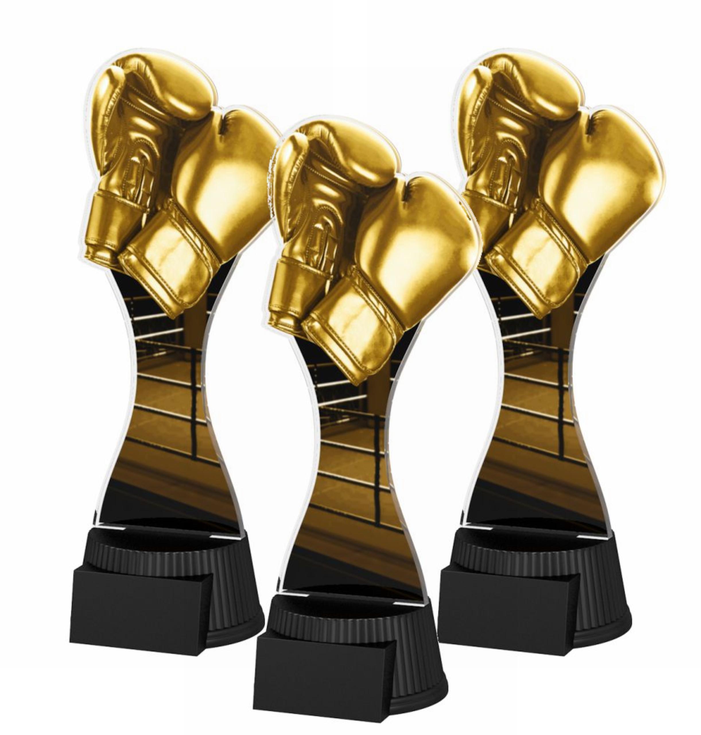 Купить STATUETTE CUP CUTCNM13C - Золотые боксерские перчатки на Otpravka - цены и фото - доставка из Польши и стран Европы в Украину.