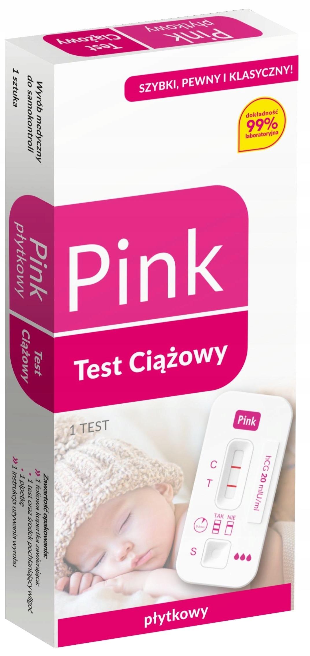 Plytkowy Test Ciazowy Pink Eco 6 Dni Dokladny 99 9 7258906918 Allegro Pl