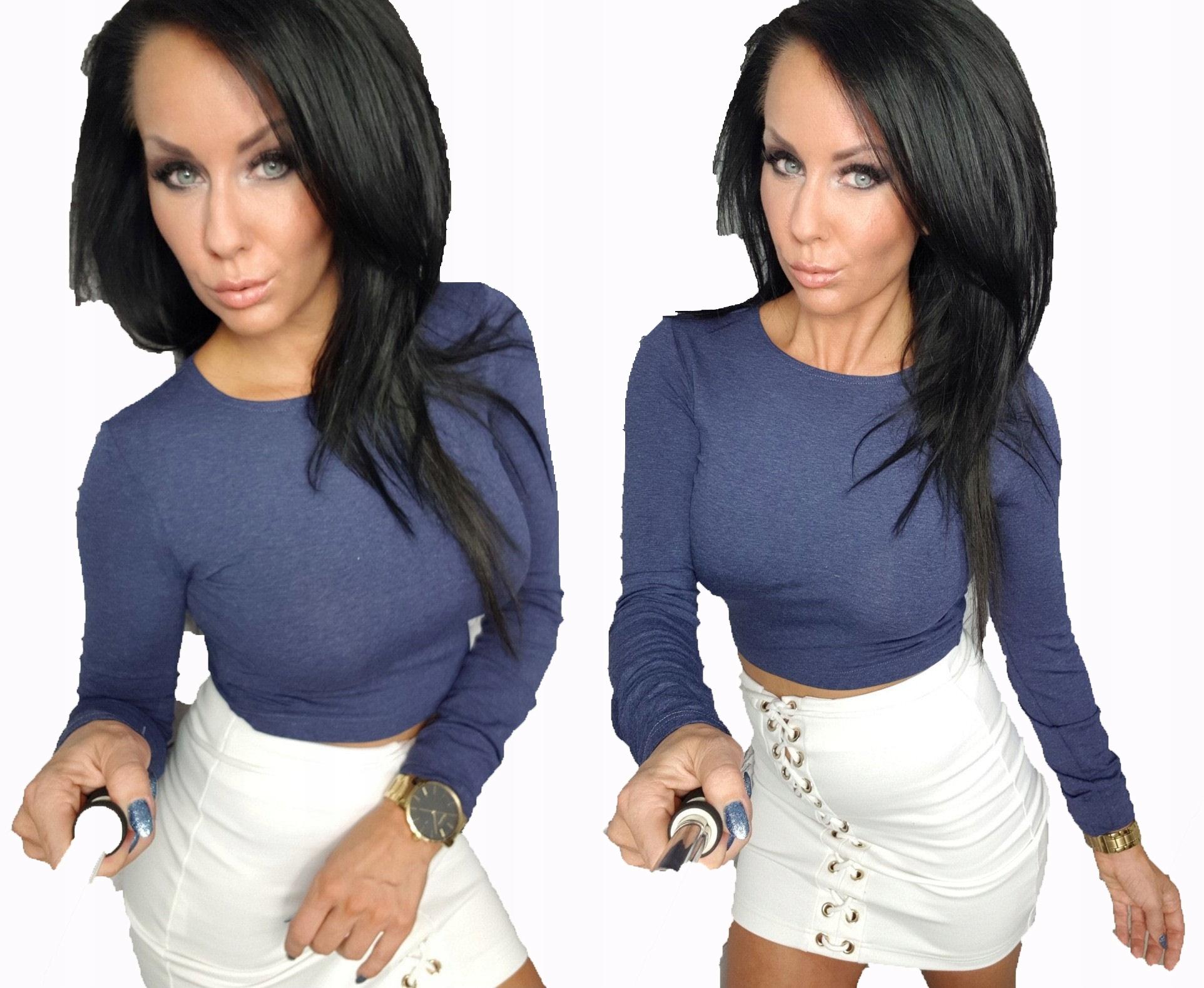 LipMar.... krótka bluzka top Must Have Kolory M 38