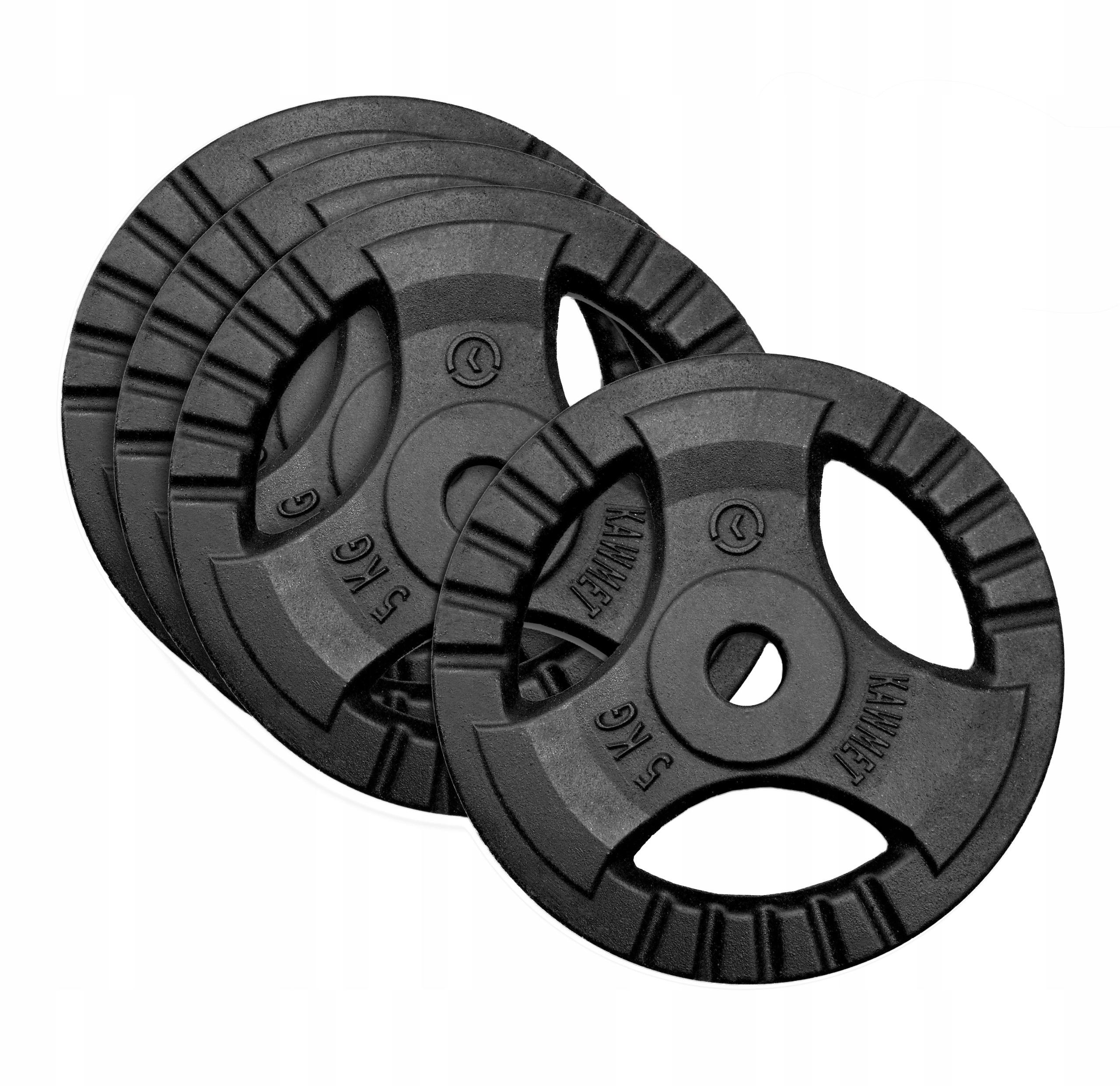 Zestaw 20kg obciążenia żeliwne kierownica 4x5kg
