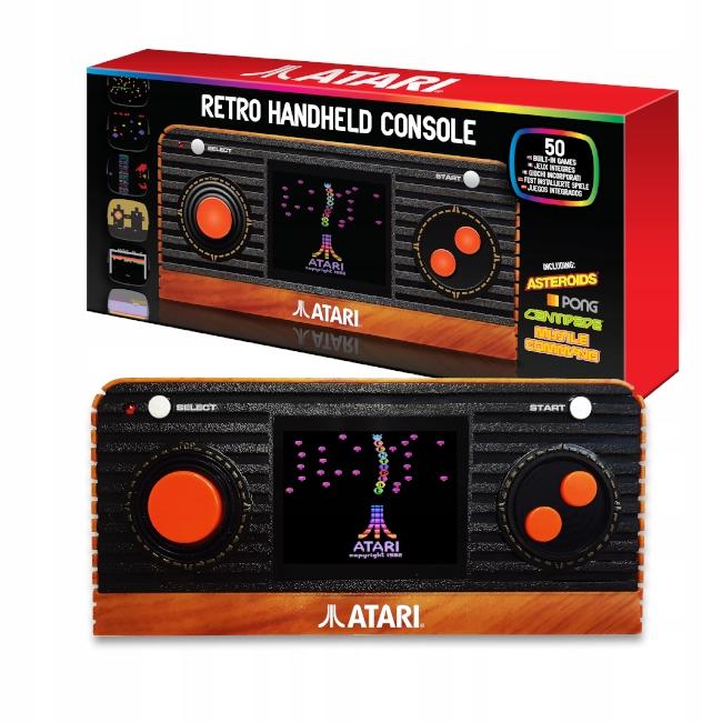 ATARI Portable Retro Console - 50 pamäťových hier