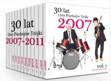 Item 13CD 30 YEARS CHARTS OF THE THREE VOLUMES 1-13 FILM