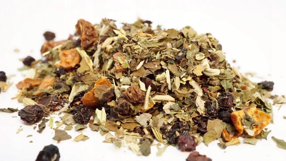 Zápcha 1 kg bylinný čaj, Slivky, Kôpor,