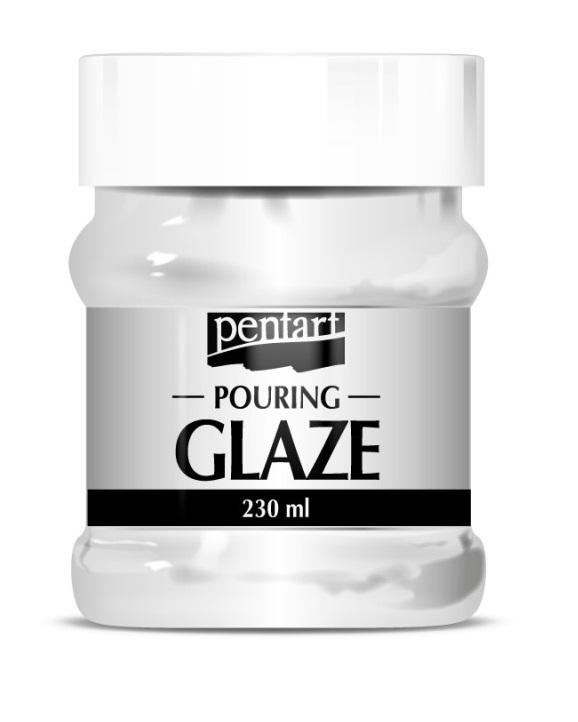 Lakier szklący Pouring Glaze - Pentart - 230 ml