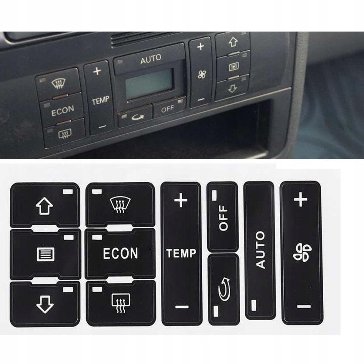 наклейки ремонт клавиши кнопки audi a2 a3 8l