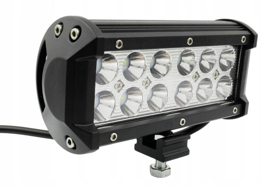 лампа 36w led cree рабочая галоген прожектора ip65
