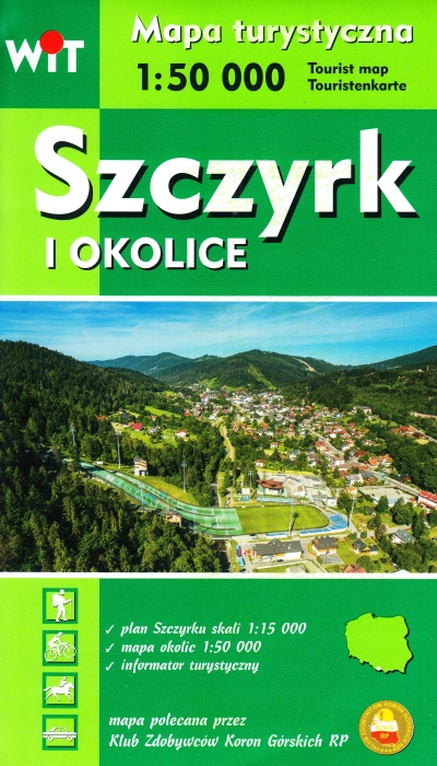 Item Szczyrk i okolice Beskid Śląski mapa NOWE WYDANIE