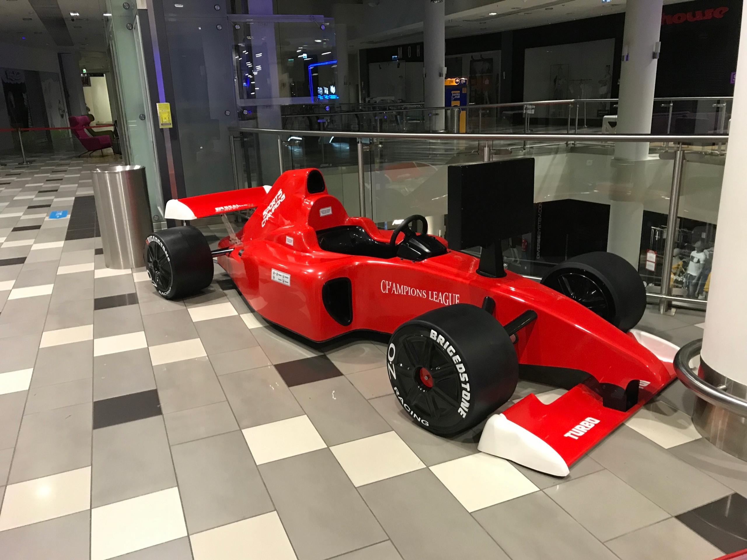 Купить Болид F1 Симулятор Болида - с расположением в Варшава, на Otpravka - цены и фото - доставка из Польши и стран Европы в Украину.