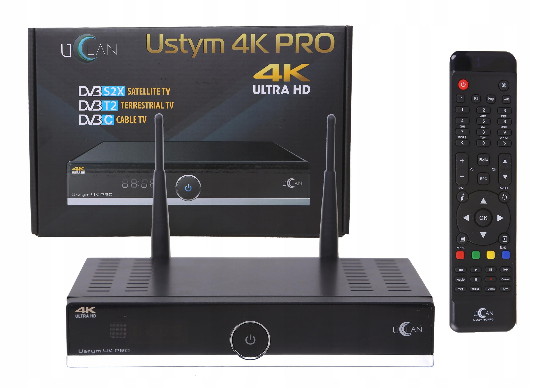 USTYM 4K PROCombo Enigma2 Oscam IPTV Kodi Netflix
