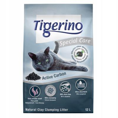 Tigerino Osobitnú Starostlivosť výplň pre mačku ActiveCarbon