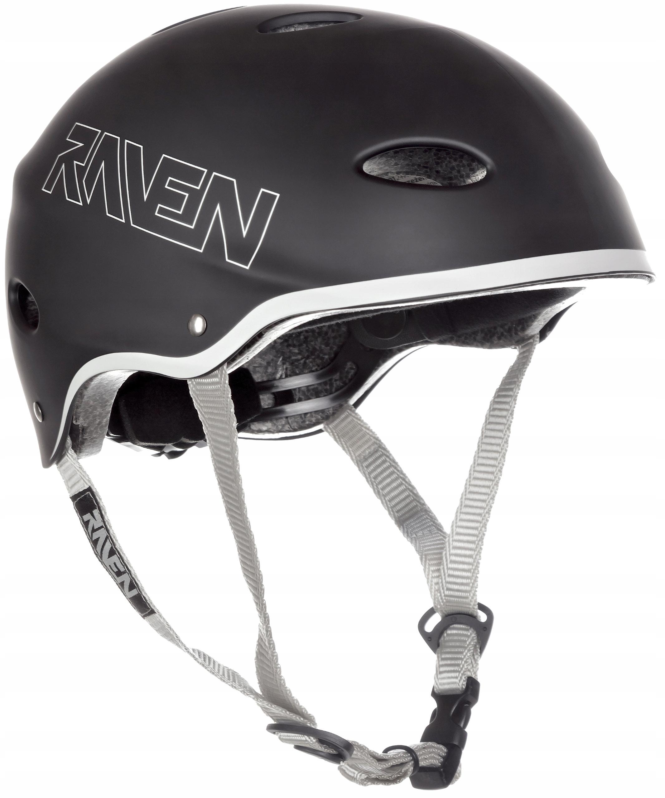 Kask Skateboardowy RAVEN F511 Black M (56-58cm)