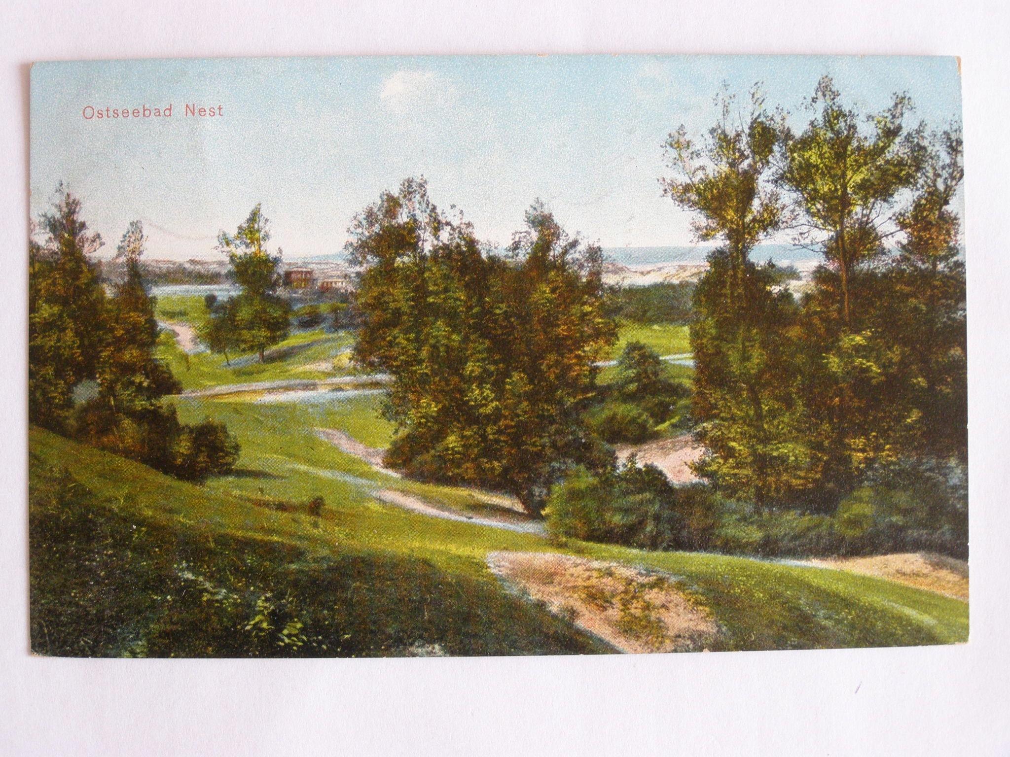 Unieście Nest Mielno widok z wydmy Koszalin 1910