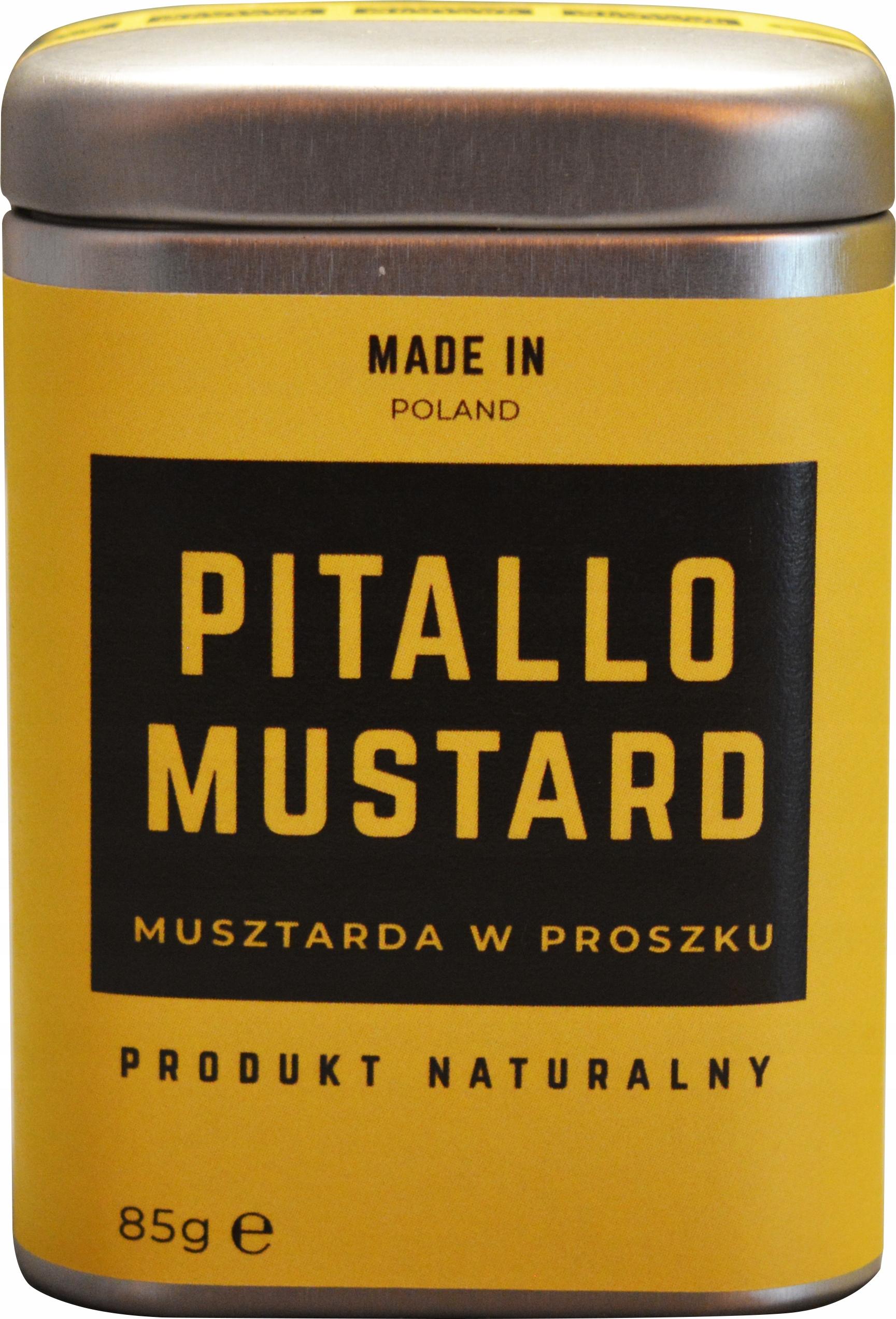 Item Mustard Powder 85g Pitallo Mustard Spicy!
