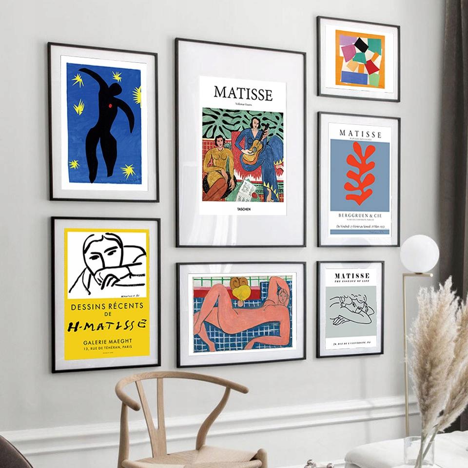 Duża Kolekcja Plakatów Plakat Henri Matisse A3 Art