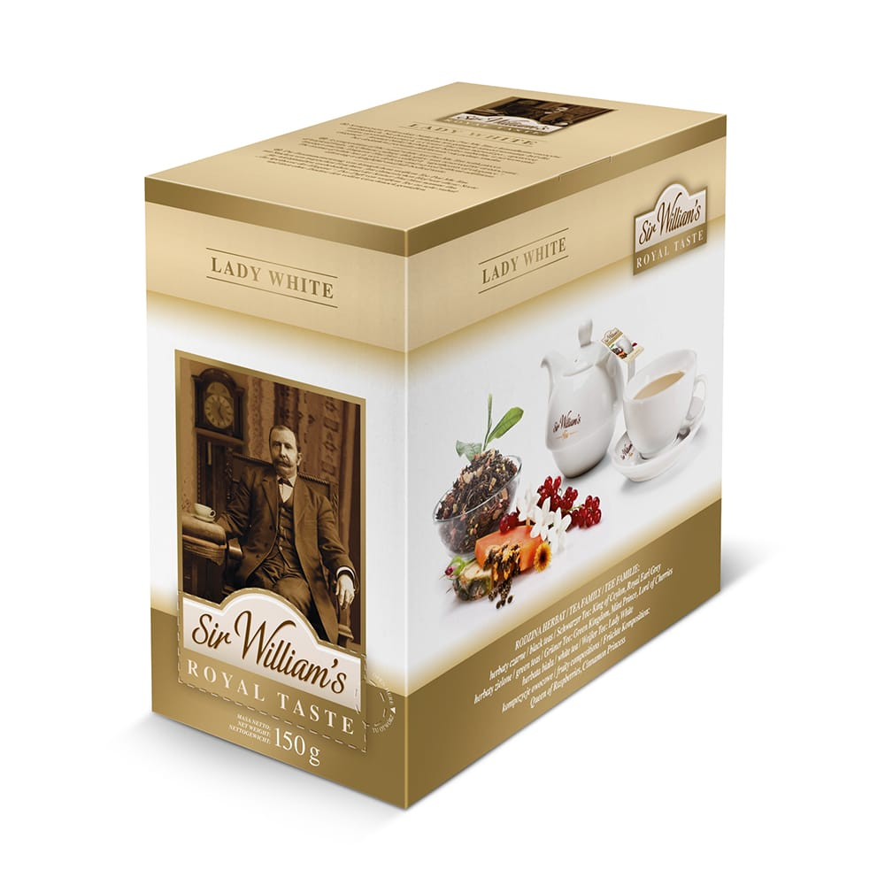 Biely čaj Sir William's Royal Chuť Lady Biela