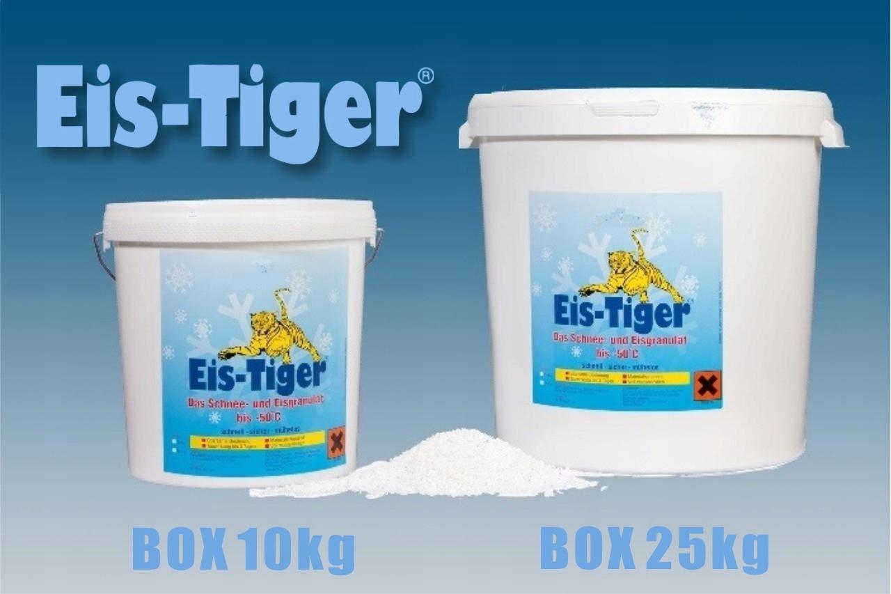 Eis-Tiger 25 kg lieku na odstránenie ľadu a snehu