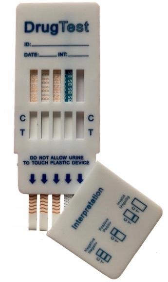 Testy na Dopalacze MULTI  K2 MDPV BZO Fentanyl
