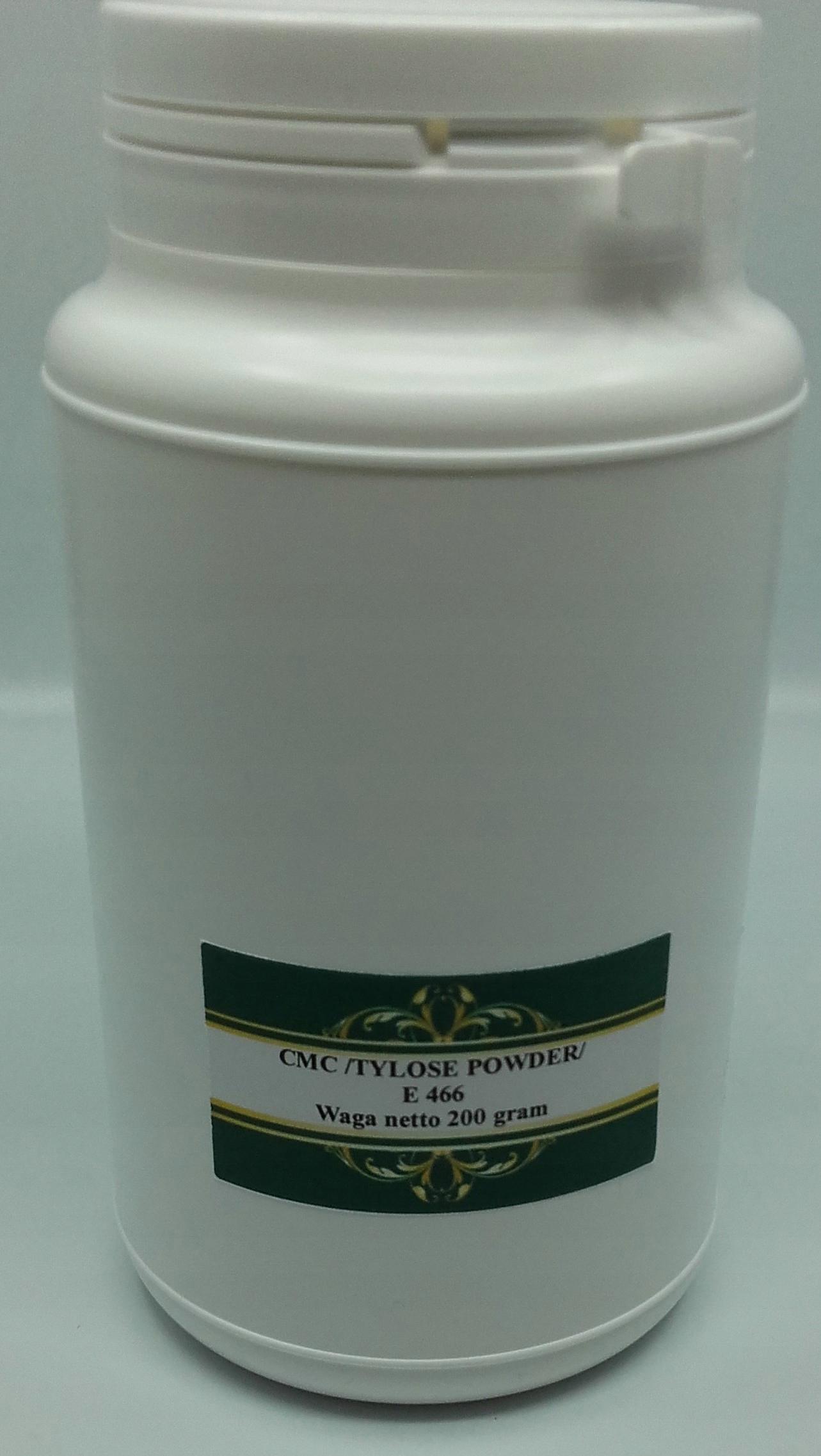 Пищевой клей CMC / порошок Tylose / 200 грамм