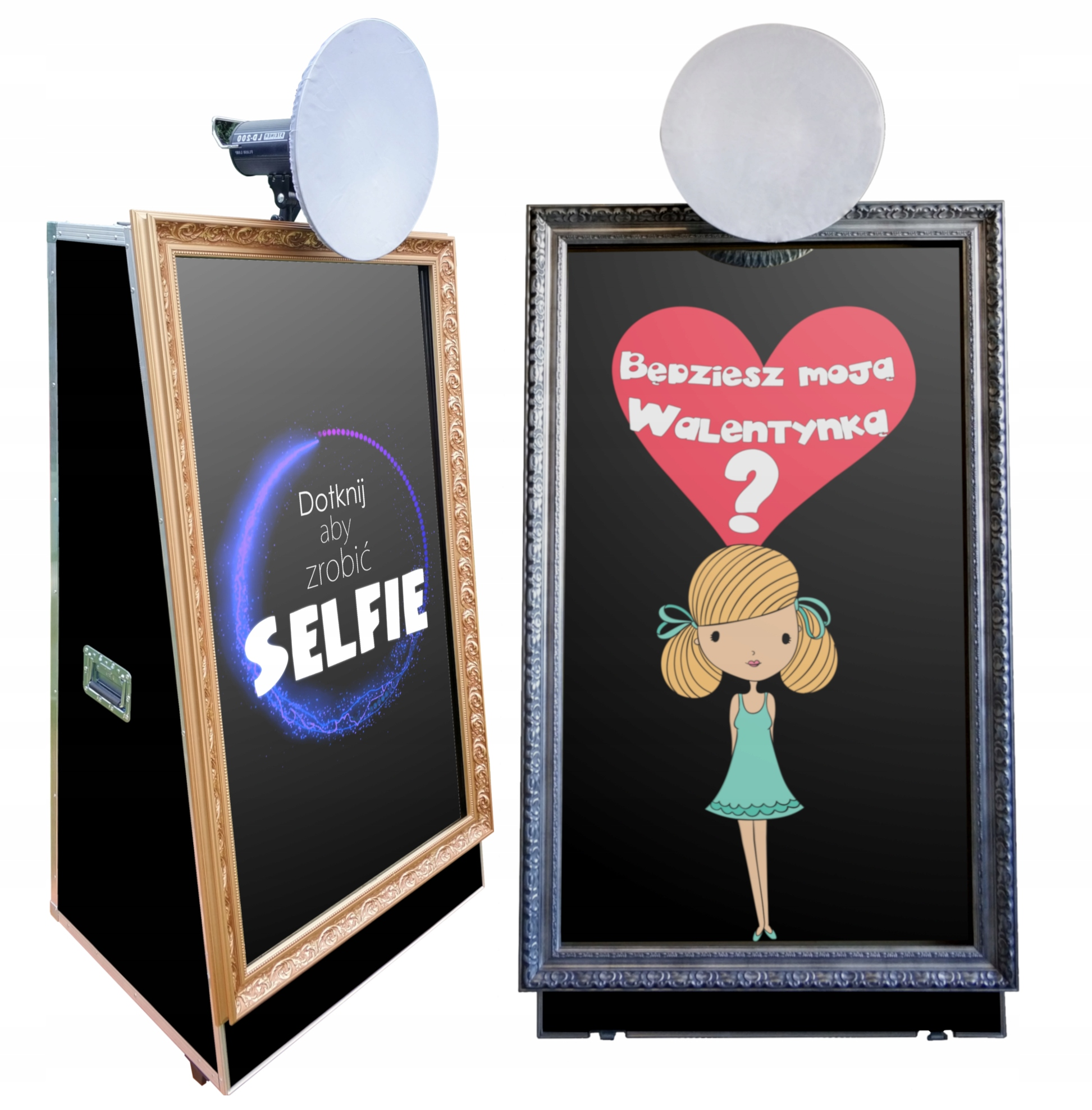 Item Fotobudka Fotolustro Selfie mirror Mirror 65 4K