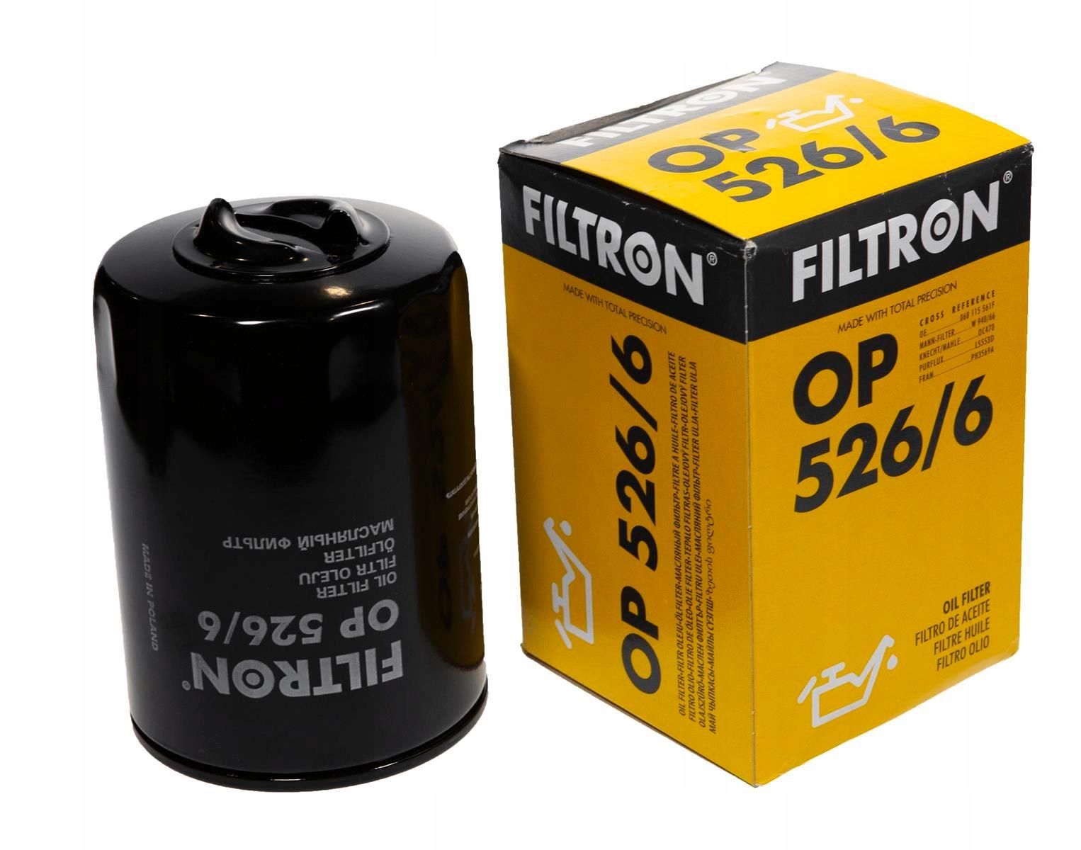 фильтр масла filtron кол-во в упак 5266