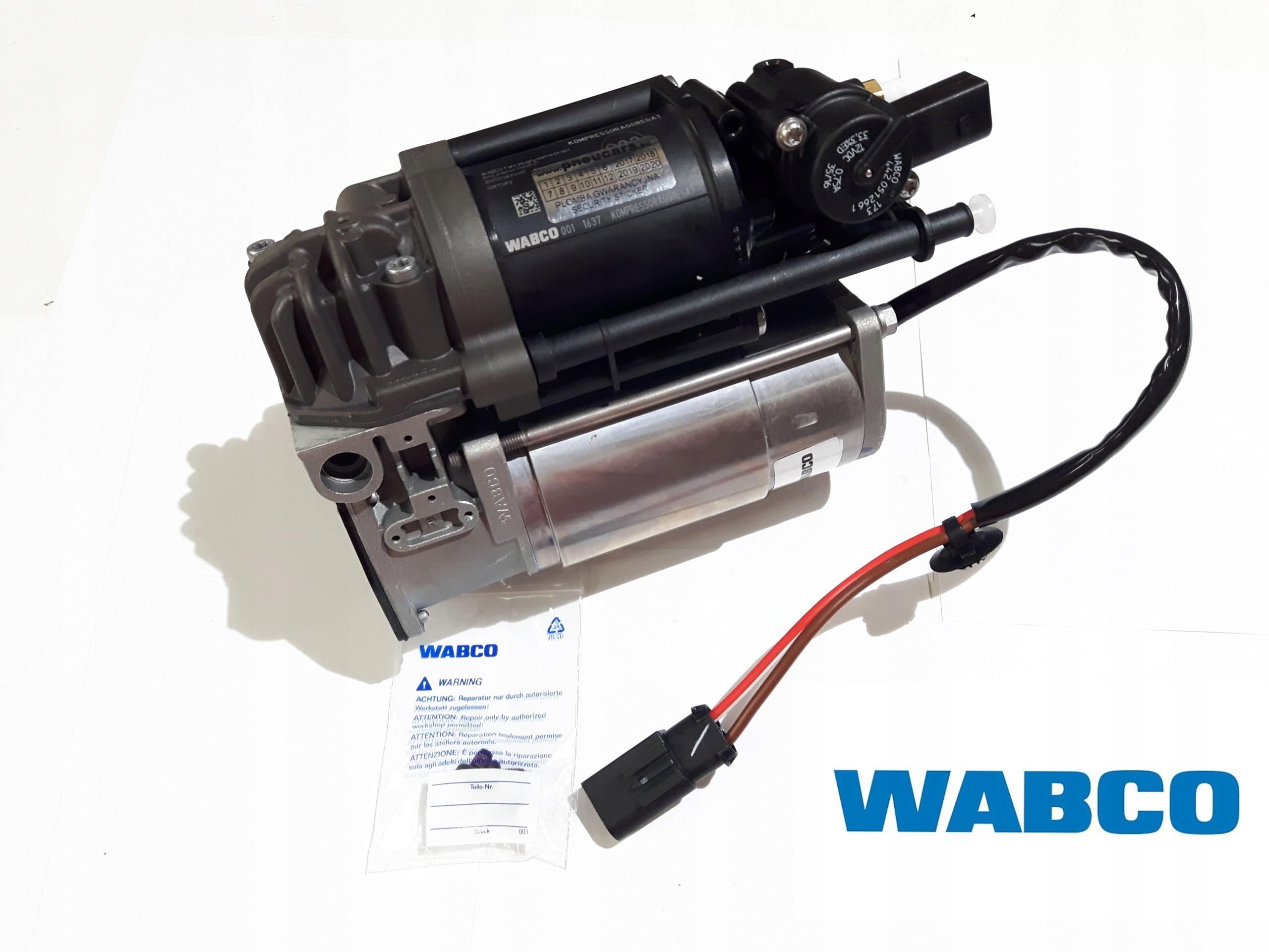 bmw 5 gt f07- f11 компрессор подвески nivo wabco