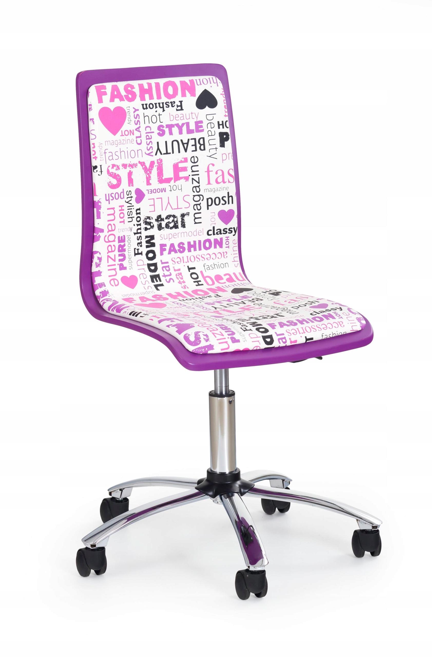 FUN7 stoličky mládež fialová - HALMAR