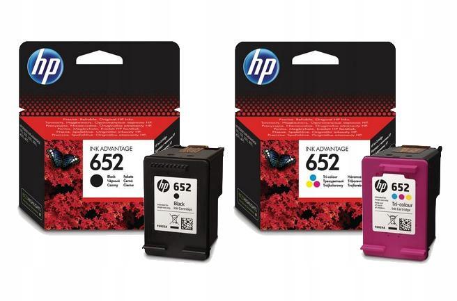 Item SET INK HP 652 BLACK+COLOR HP 3635 3785 2135