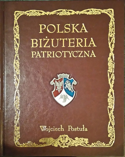 Item Poland jewellery patriotism V. Postuła, leatherette