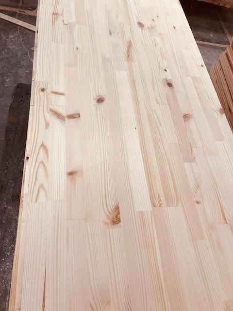 Doska borovicová doska s vrchnou doskou 200x60x1,8 cm