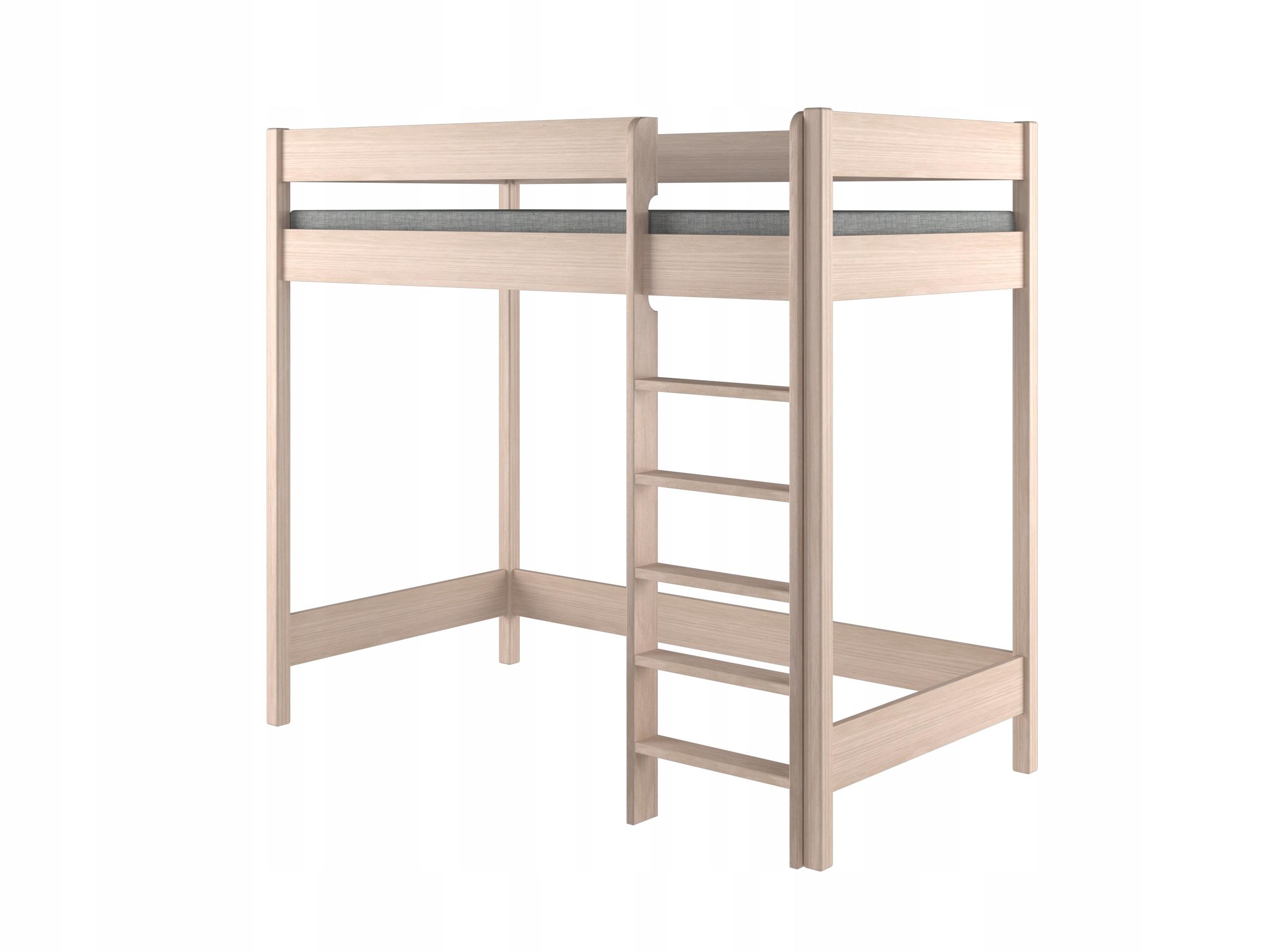 łóżko Piętrowe Młodzieżowe 160x80 Antresola