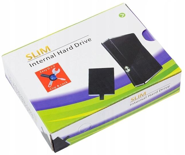 Puzdro pre 2,5 ' na konzolu Xbox 360 Slim