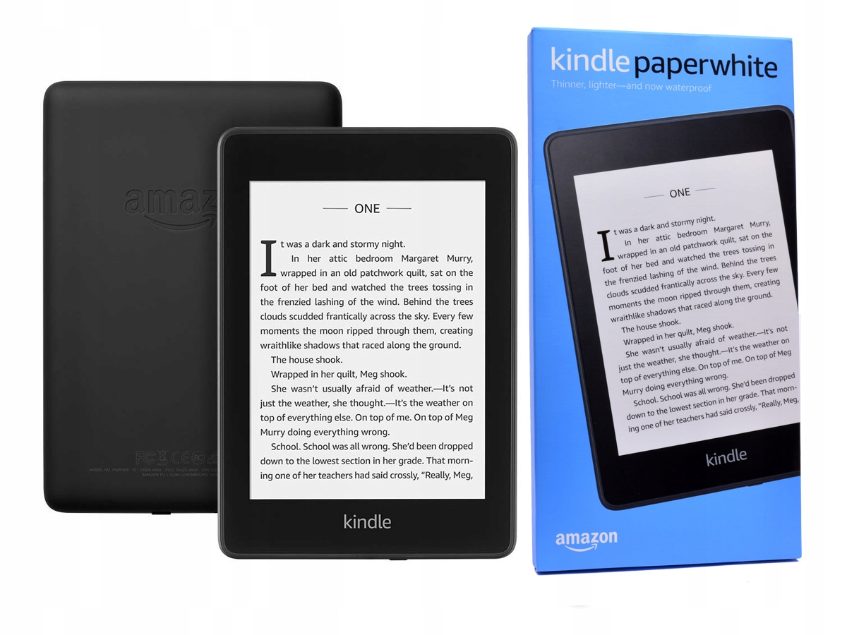 Amazon Kindle Paperwhite 4 2019 8GB i GRATISY