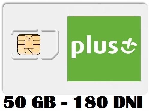 Item PLUS INTERNET ON CARD iPLUS 50 GB 3G/LTE FV
