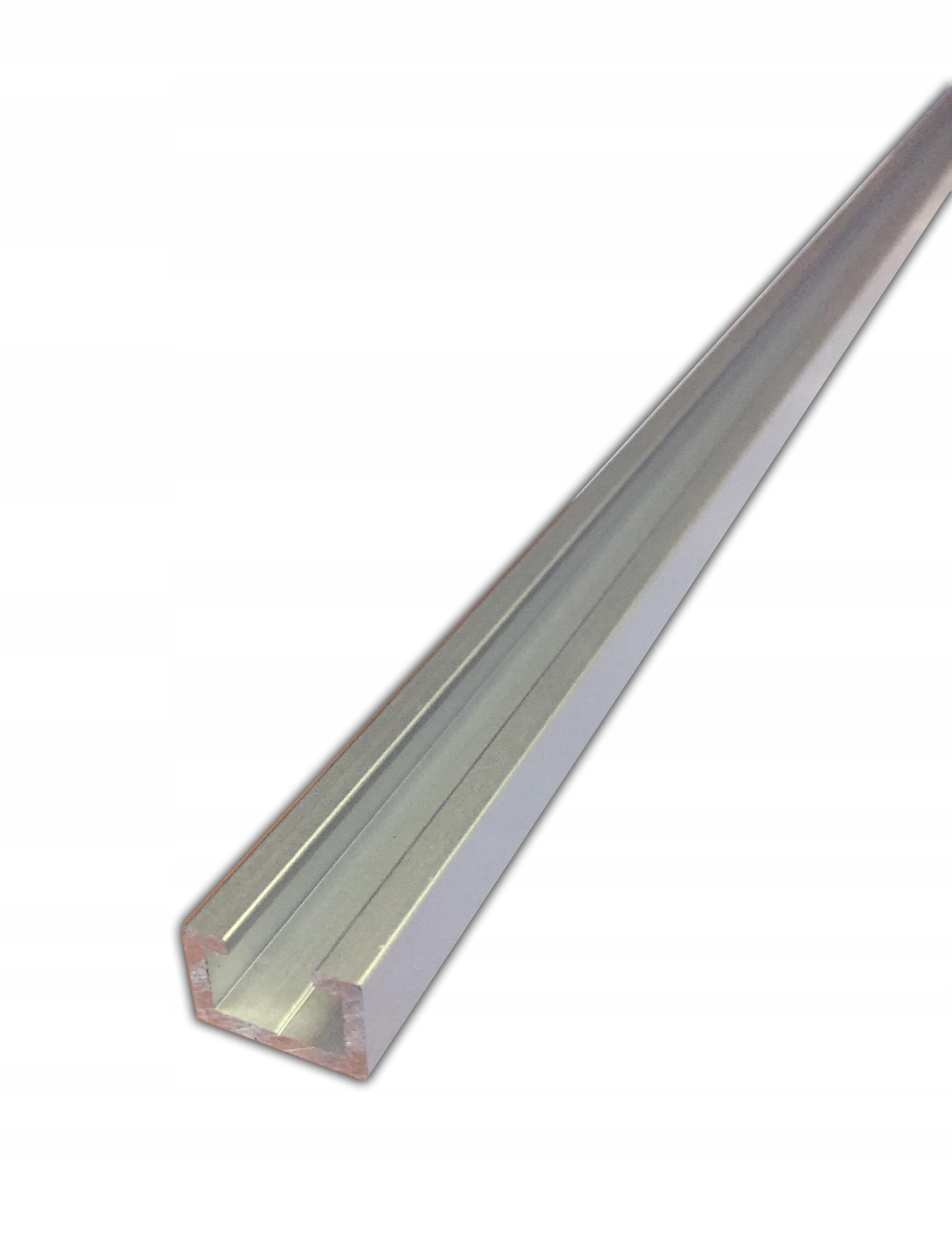 Alu C profil pre nábytkovú stolársku kuchyňu 17x11mm 1m