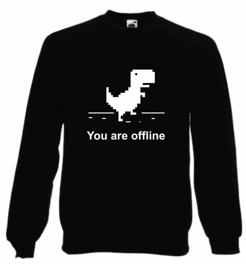 You are offline, google , Bluza
